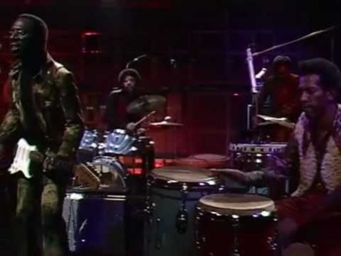 Curtis Mayfield on the television music program The Old Gray Whistle Test, 1972